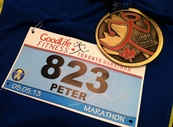 Toronto Marathon - 2013 Race Report