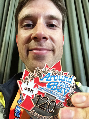 Me and my ATB finishers medal